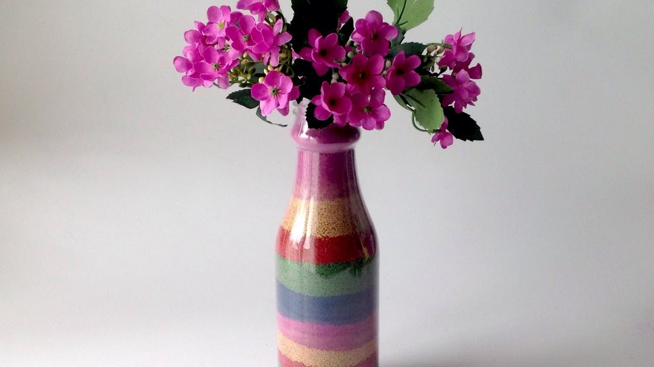 Make A Colorful Sand Vase - DIY  - Guidecentral
