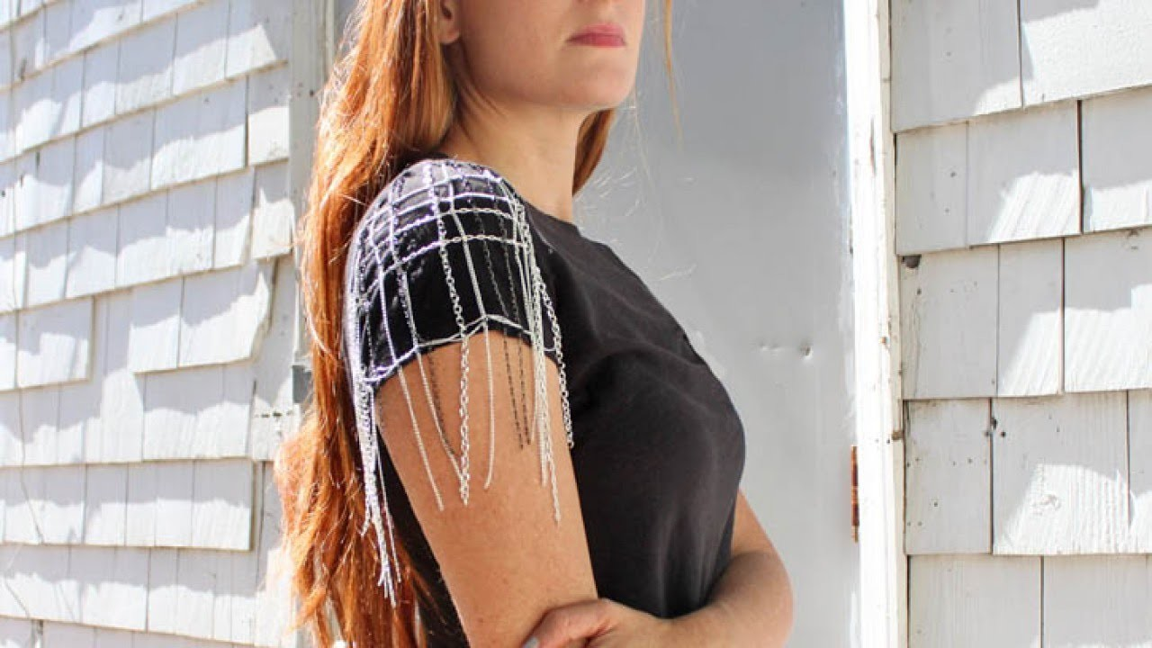 Make A Cool Chain Sleeve T Shirt - DIY  - Guidecentral