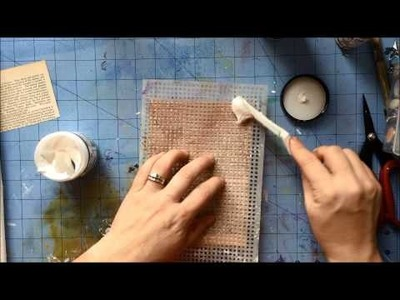 Mixed Media Canvas tutorial: part 1