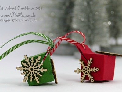Pootles Advent Countdown #10 Super Tiny Tree Decoration Tutorial