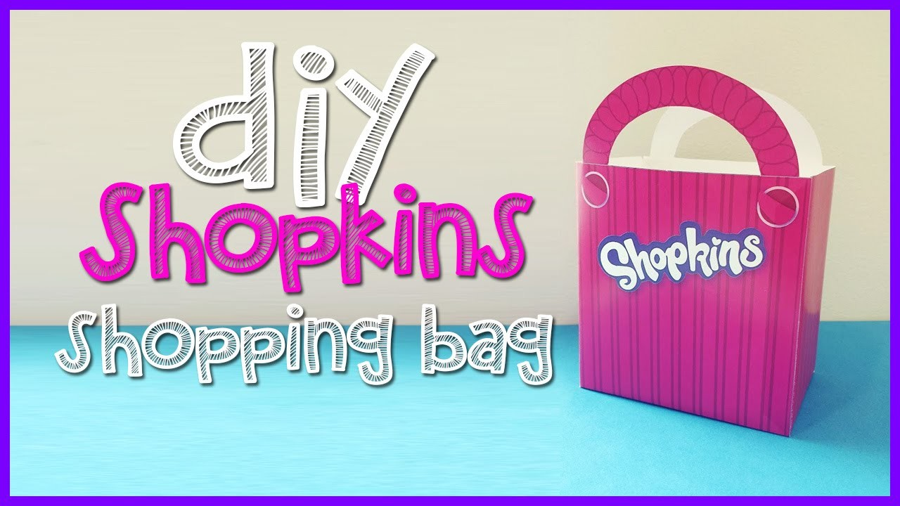 Shopkins Shopping Bag - DIY