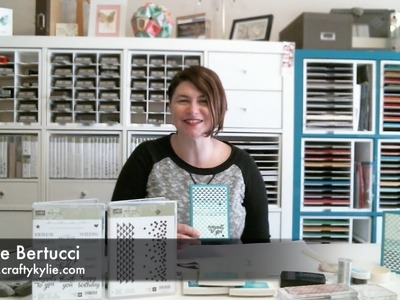 Stampin' Up! Dotty Angle Ombre Card Tutorial