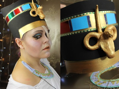 The ghost of Nefertiti  - Halloween costume tutorial part 1