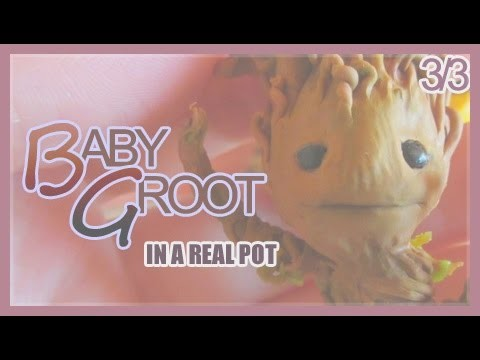 [Tutorial] ★ Baby Groot (from Guardians of the Galaxy) in a Flower Pot [3.3] ★