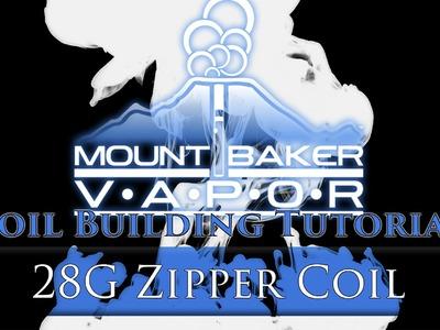 Vape Coil Building Tutorial: 28G Zipper Coil