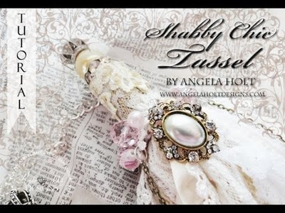 Amazing Shabby Chic Tassel Tutorial One for sale