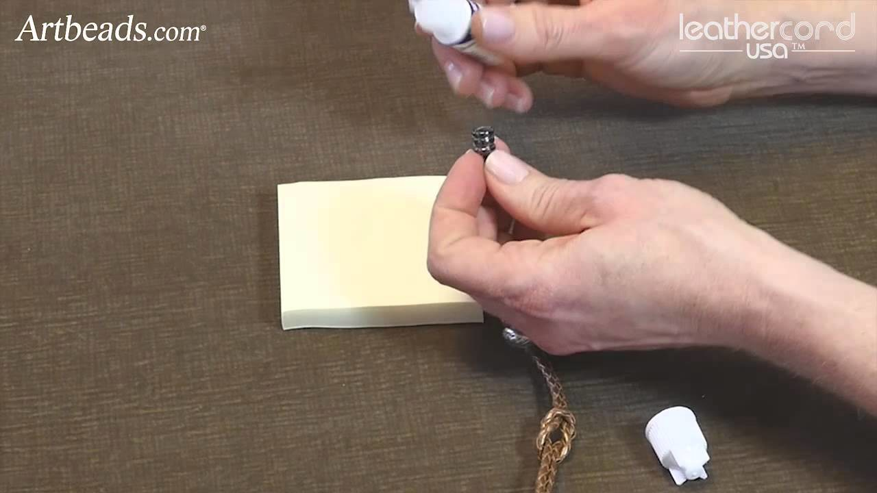 Artbeads Mini Tutorial - Love Knot Bolo Bracelet with Katie Hacker