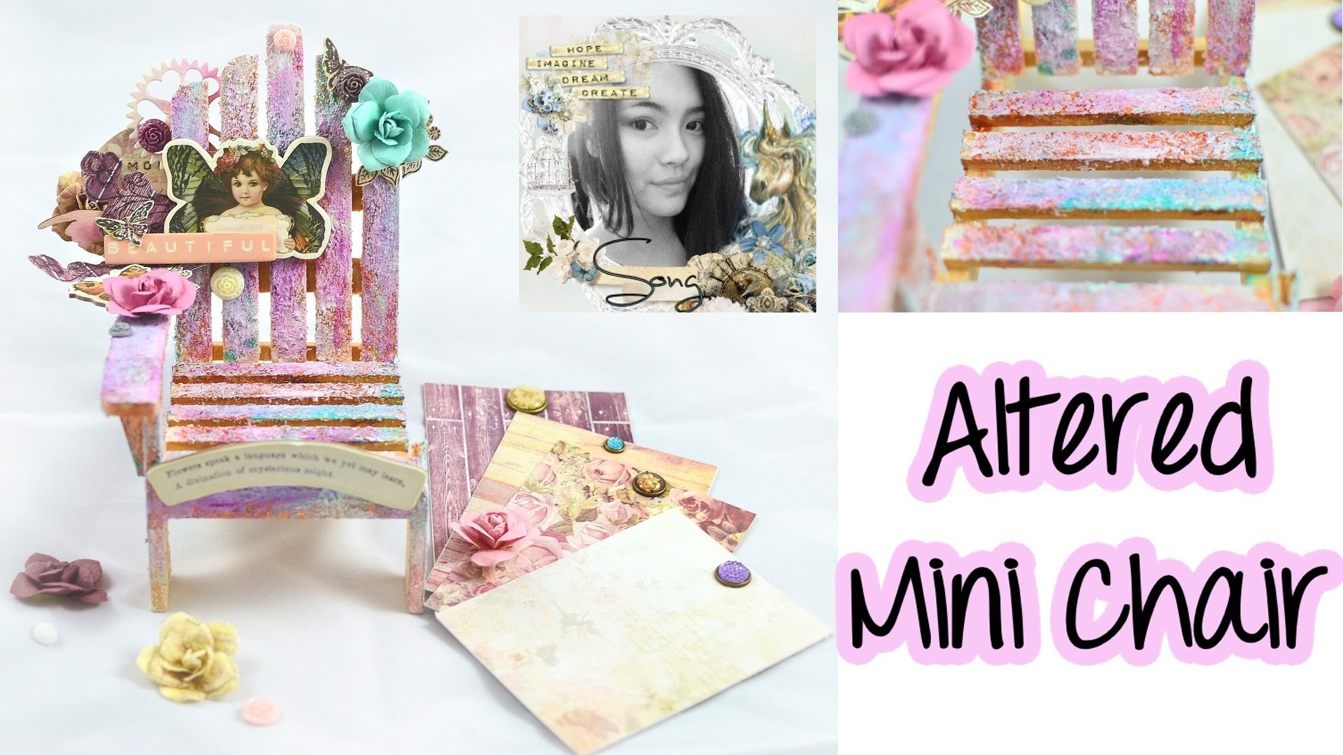 August Kit Off The Page (Altered Mini Chair Tutorial)