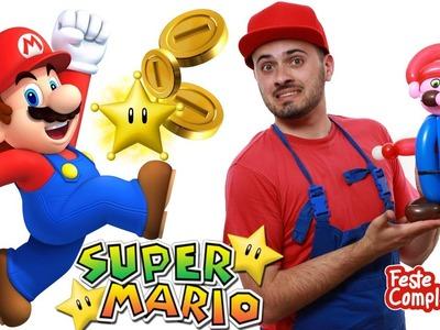 Balloon Super Mario bros - Palloncino Super Mario - Tutorial 100 - Feste Compleanni