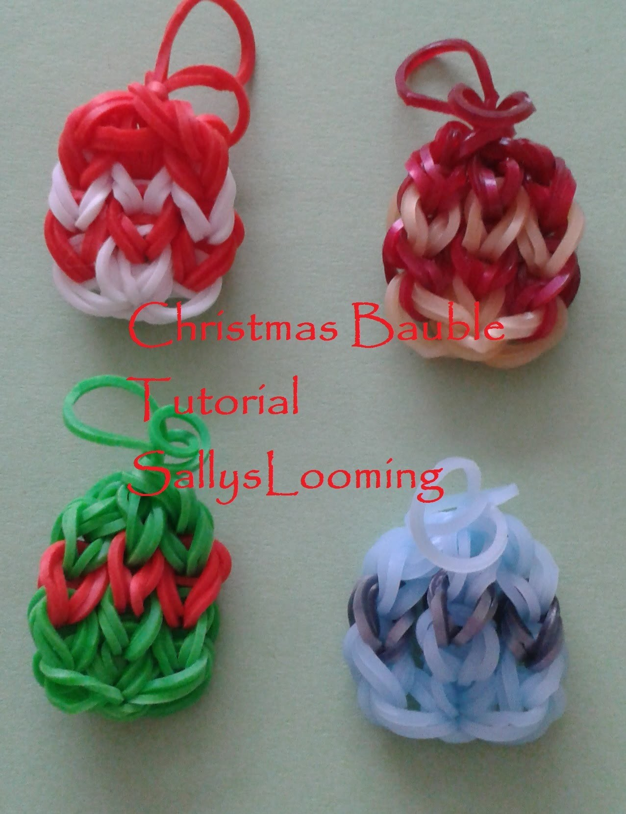 Bauble Charm Loom Band Tutorial