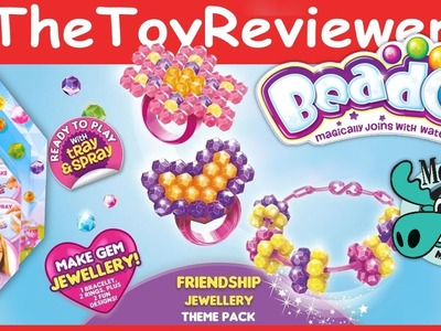 Beados Gems Theme Pack - Friendship Jewelry Theme Pack Unboxing Tutorial by TheToyReviewer
