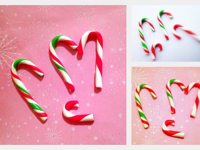 Candy Cane Charms Tutorial