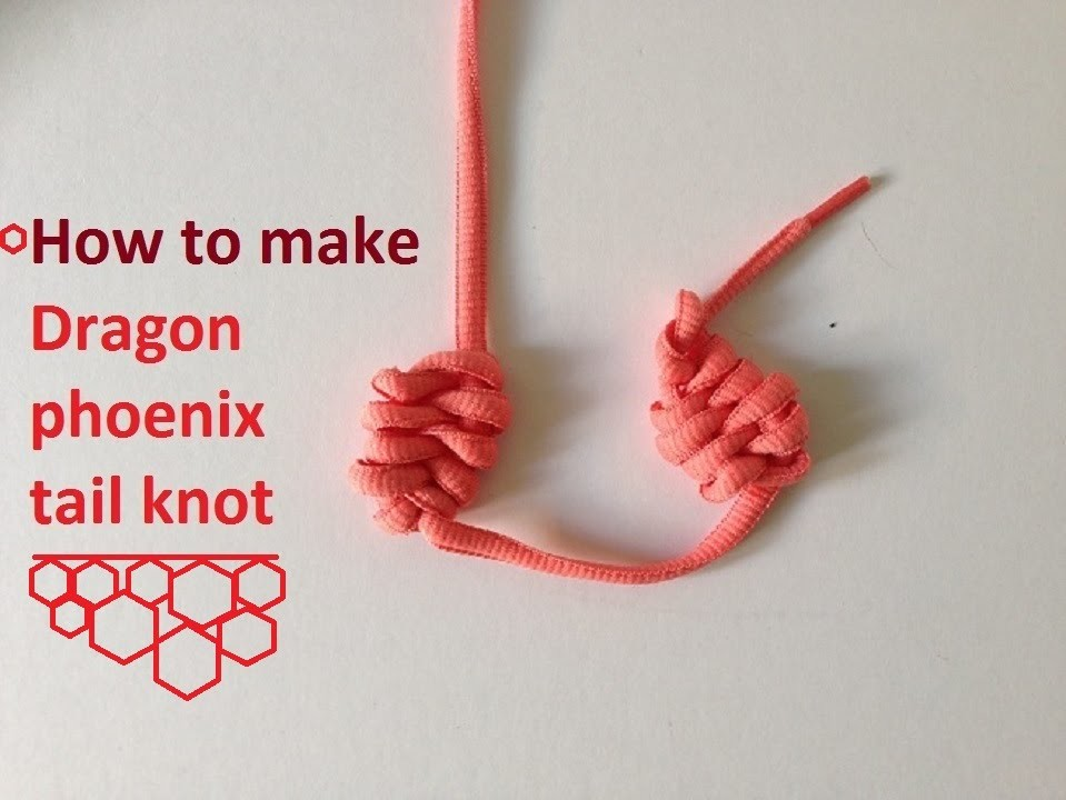 Chinese knot tutorial 5d
