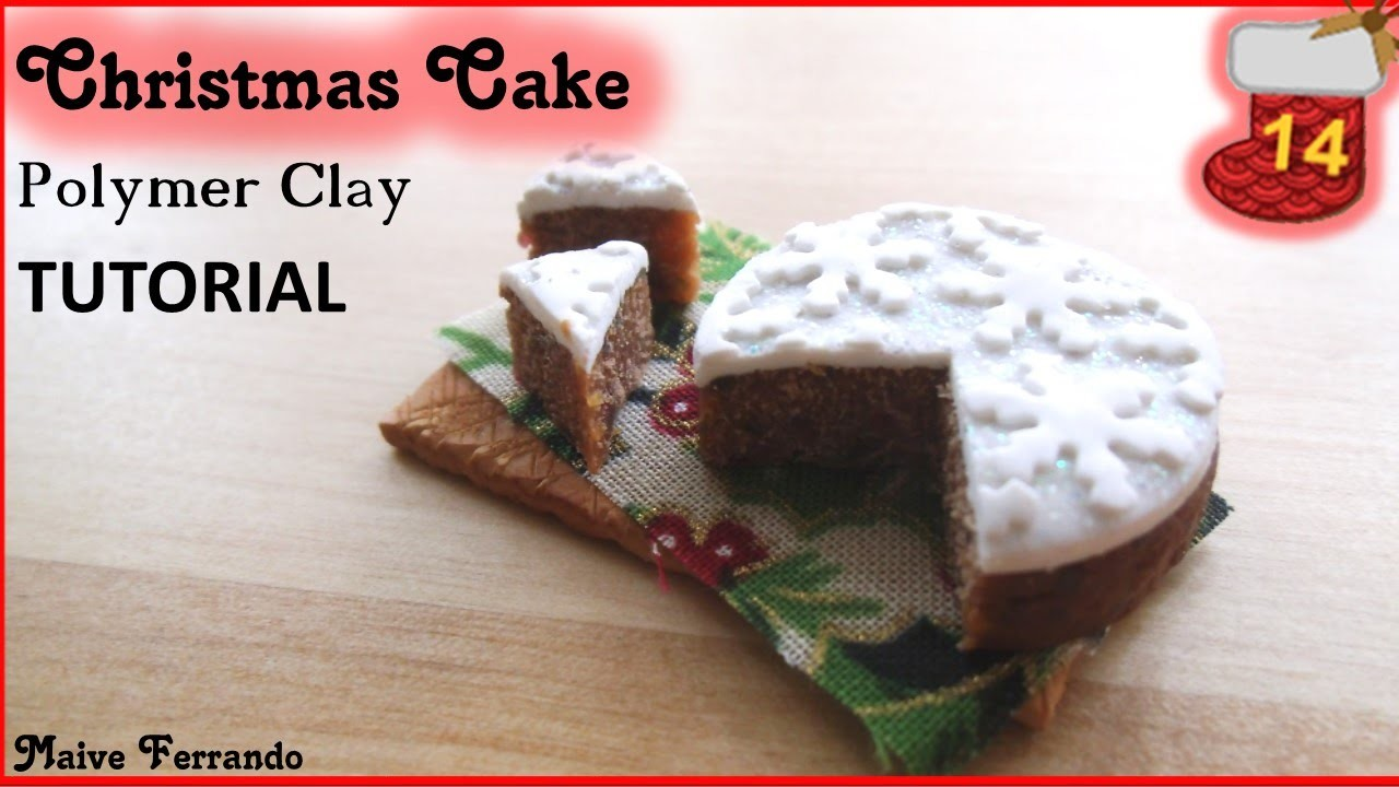 Christmas Advent Calendar: 14th Day - Snowflake Cake Tutorial