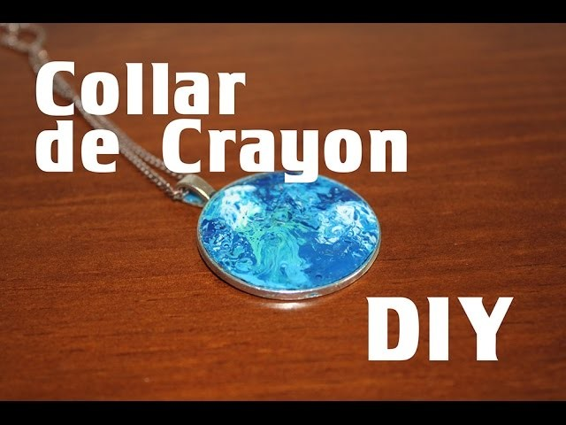 Collar de crayón -DIY- crayons necklace