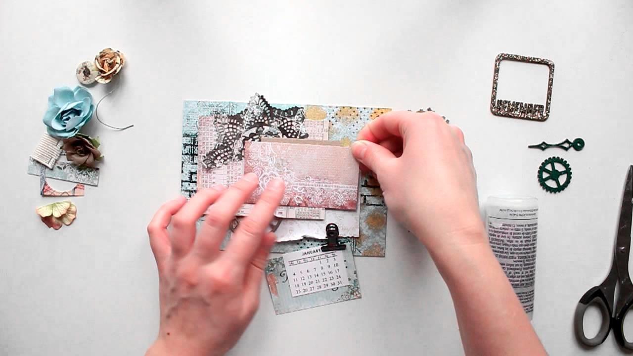 Create a Desk Calendar Fast and Easily with Elena Morgun Tutorial