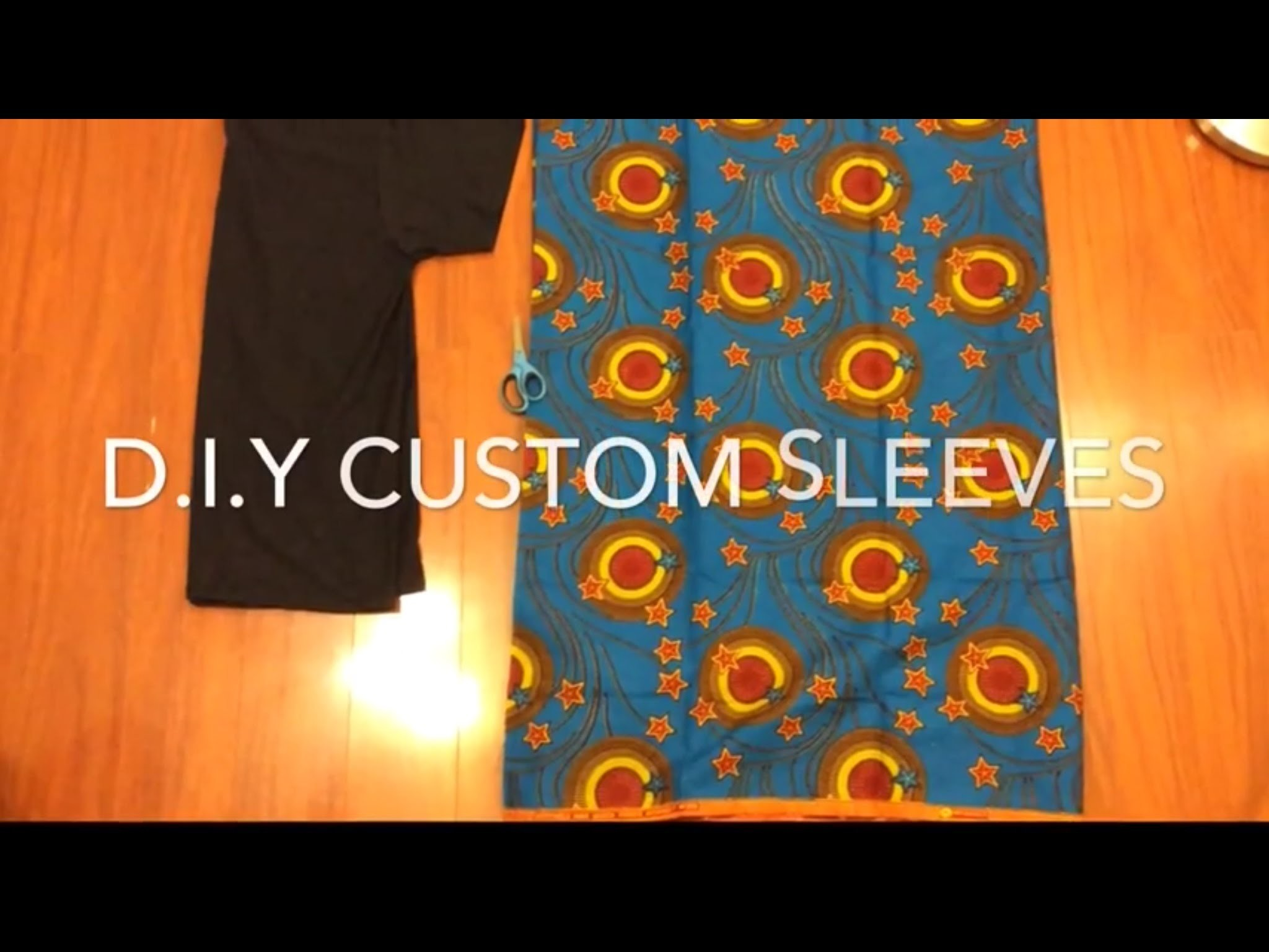 Custom Sleeve T-Shirts (D.I.Y)