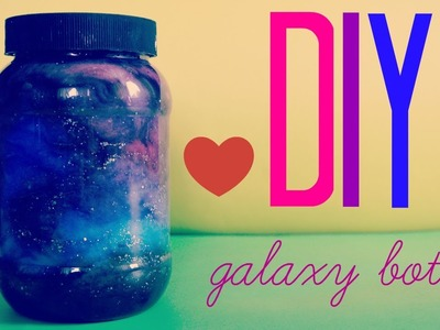 DIY Galaxy bottle