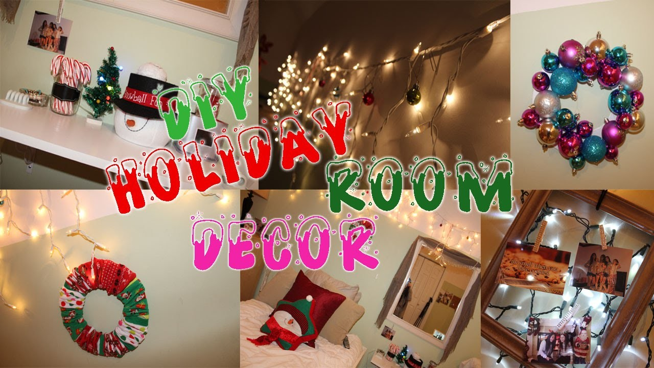 DIY Holiday Room Decor