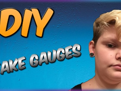 DIY Swirl Fake Gauges! Really COOL and EASY To Make!