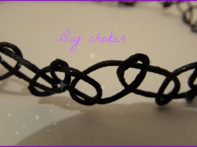 DIY tattoo choker.necklace!