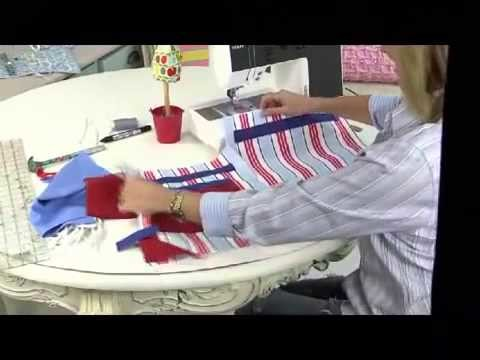 Drawstring duffle bag tutorial by Debbie Shore