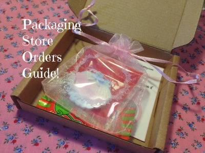Etsy Store Packaging Guide Tutorial ♥
