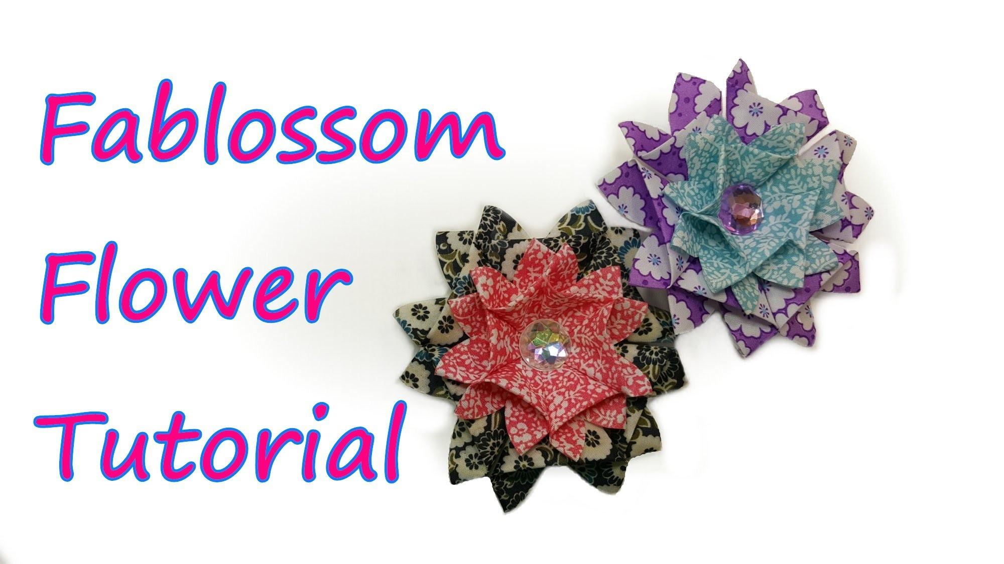 Fablossom Flower Tutorial by feelinspiffy