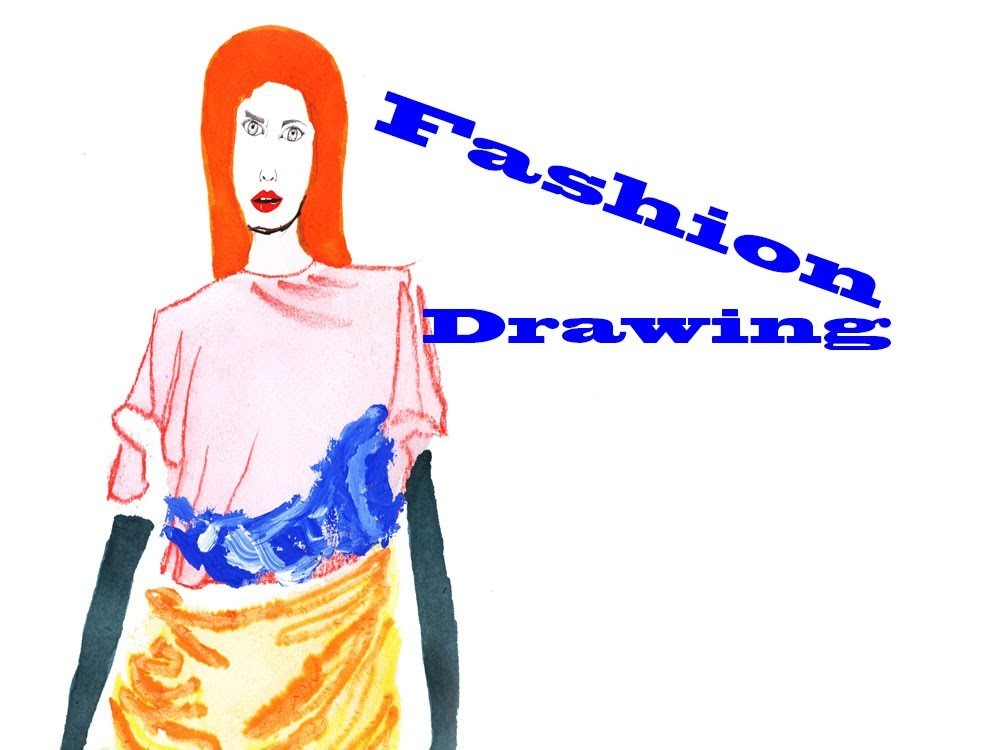 Fashion drawing fleshing out the body tutorial