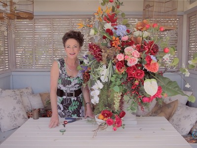 Flemish Fruit and Flower Arrangment Floristry Tutorial