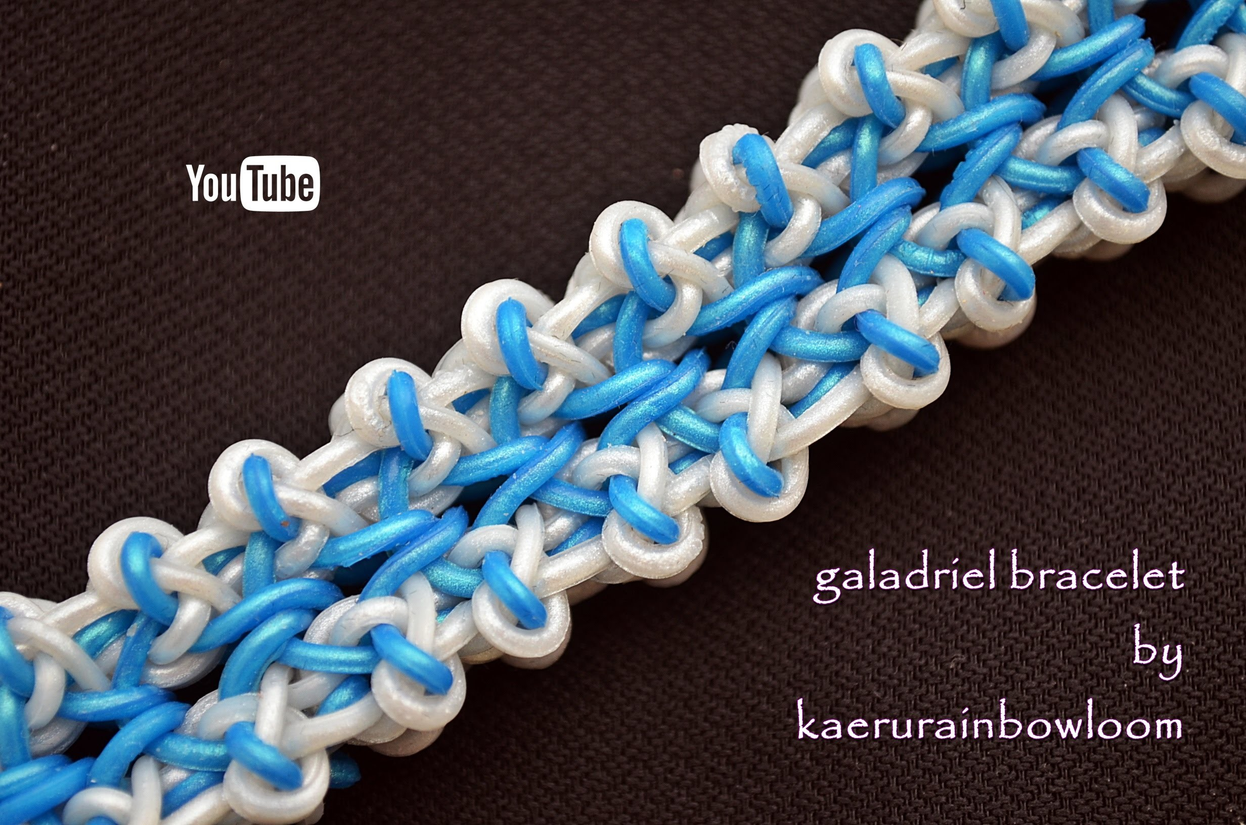 GALADRIEL BRACELET HOOK ONLY DESIGN TUTORIAL