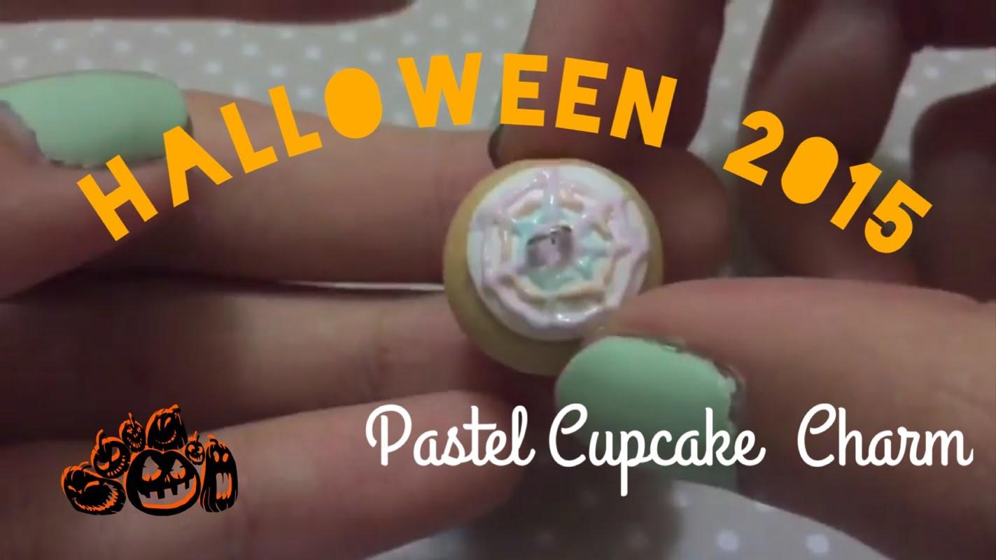 Halloween 2015: Pastel Cupcake Charm Tutorial