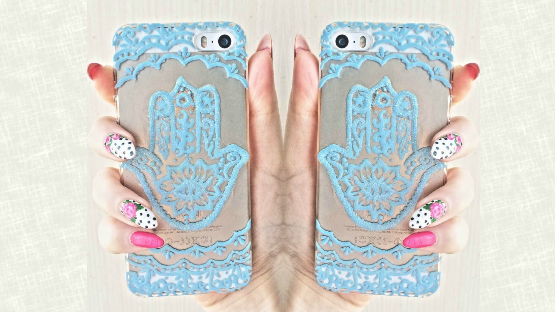 Hamsa Hand DIY  iphone case