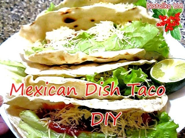 How To Cook Mexican Tacos At Home - Mexican Food Easy Recipe Tutorial