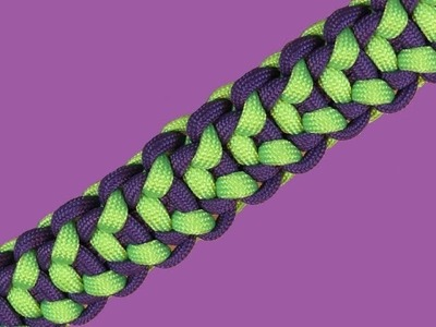 How to make a Len's Original Paracord Bracelet Tutorial (Paracord 101)