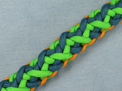 How to make an Antler Falls Bar Paracord Bracelet Tutorial (Paracord 101)
