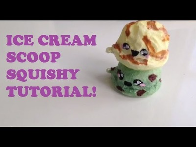 Ice Cream Scoop Squishy Tutorial