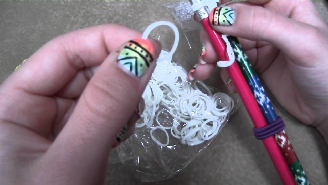 ∞Infinity Sign Rubber Band Bracelet Tutorial∞