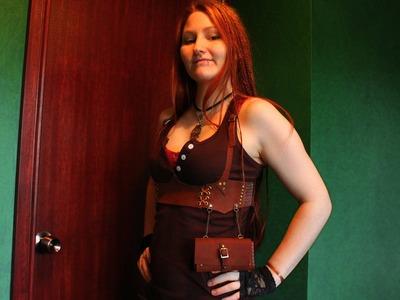 Leather underbust tutorial part 1