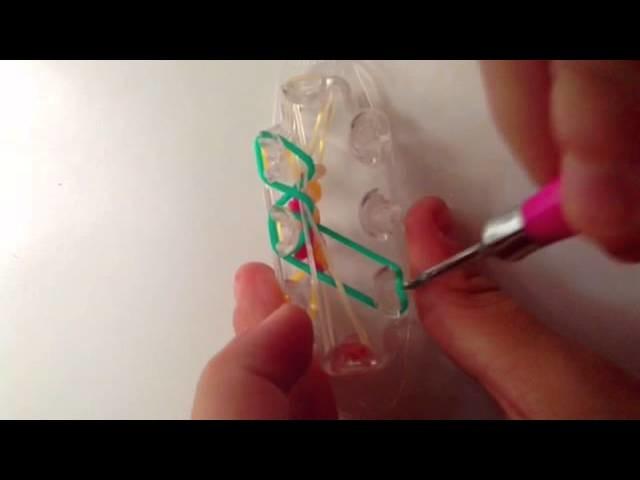 """Lilypad bracelet monster tail tutorial"""