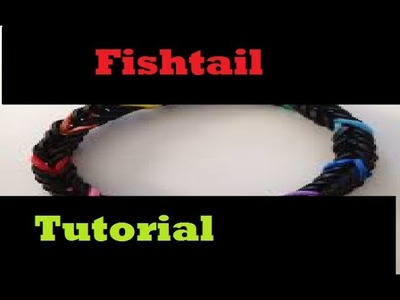Loom bands fishtail tutorial