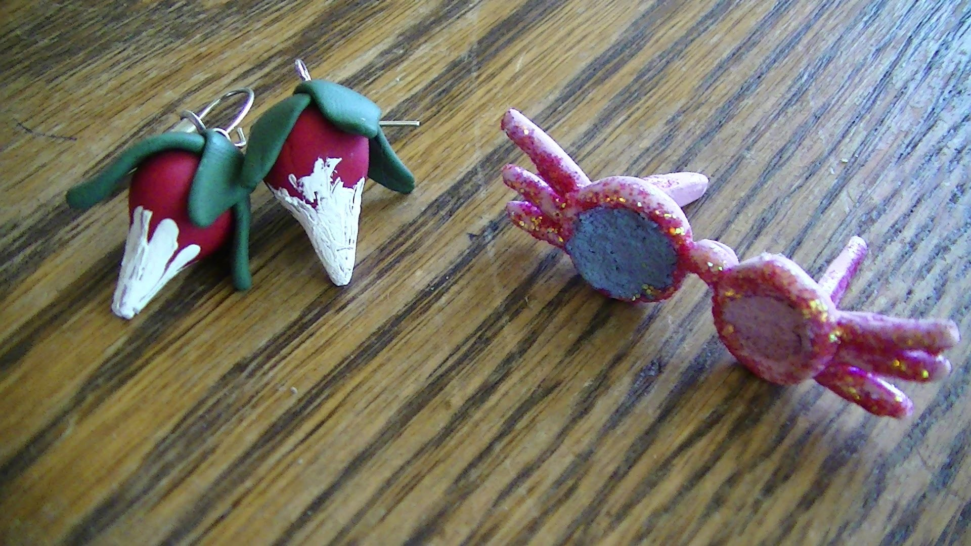 Luna LoveGood's Earrings and SpectraSpecs Clay tutorial