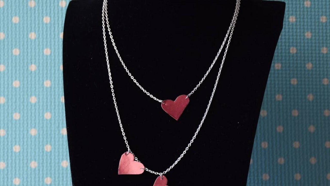 Make a Layered Heart Pendant Necklace - DIY Style - Guidecentral