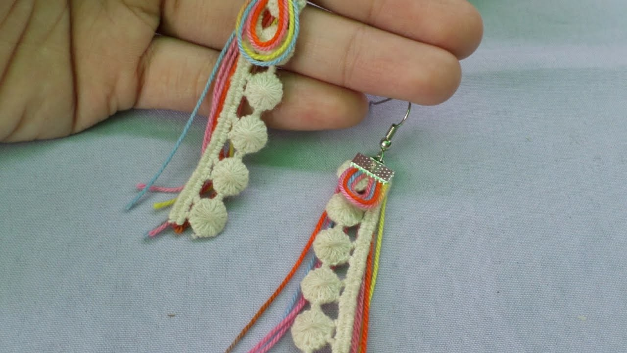 Make Festive Tassel and Lace Earrings - DIY Style - Guidecentral