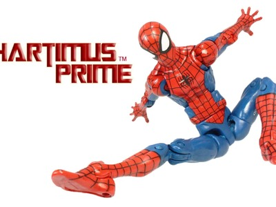 Marvel Legends Pizza Spider-Man Action Figure Hip Joint Tutorial Toy Fix
