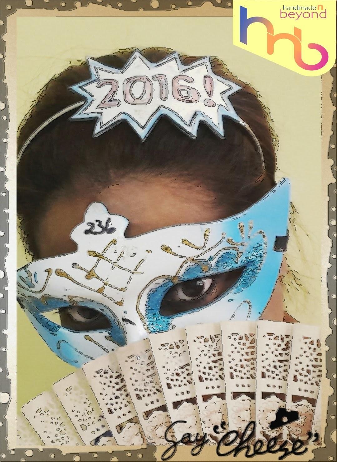 New Years Eve Headband photo Prop tutorial superhero comic books