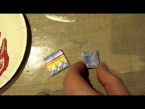 Painted Clay Tile Tutorial