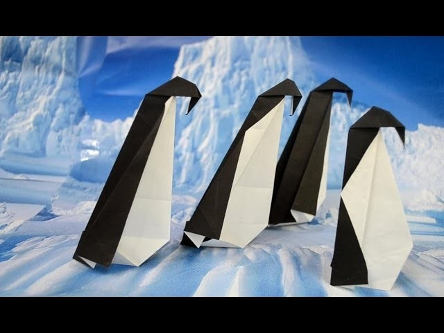 Penguin Origami Tutorial by Tampines 1