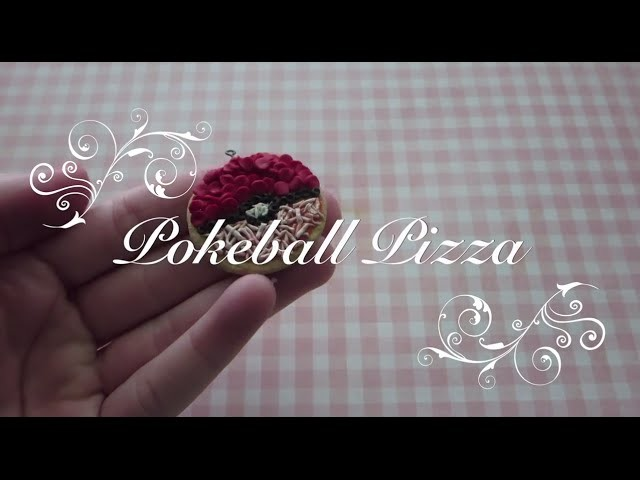 ♥ Pokeball Pizza Tutorial ♥