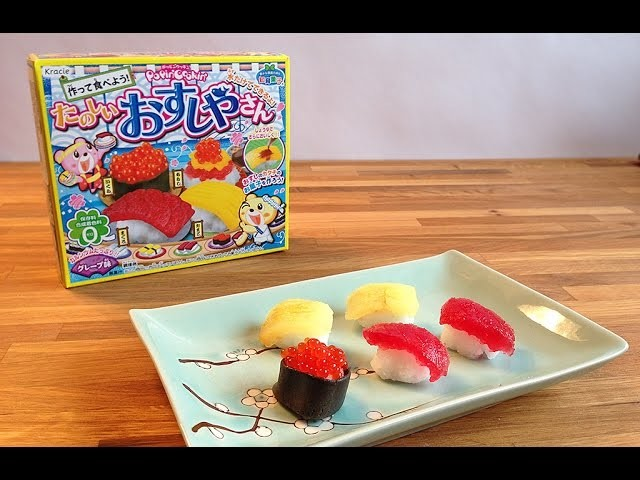 Popin Cookin Sushi DIY Candy